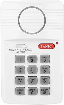ASHATA Sistema de Alarma de Puerta, Seguridad para el hogar ...