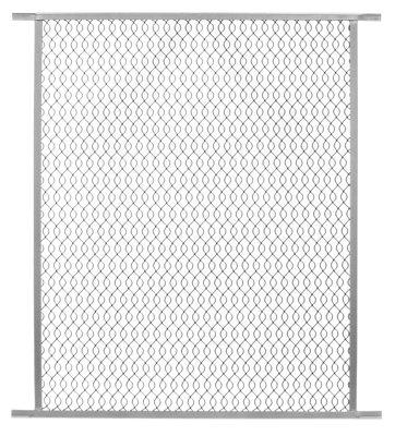precision screen & security prod 2385ml 36'W x 33'H, Gray, Aluminum Pet Grille
