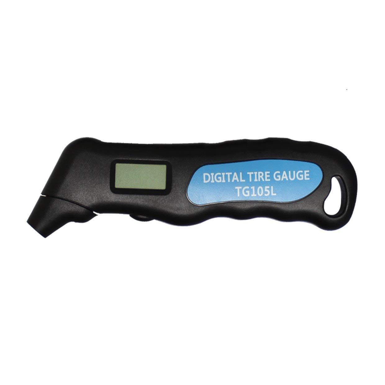 MXECO Multifuncional Pantalla LCD de pantalla de Neum/áticos Man/ómetro digital del metro del calibrador de presi/ón de neum/áticos port/átil para el coche con el contraluz