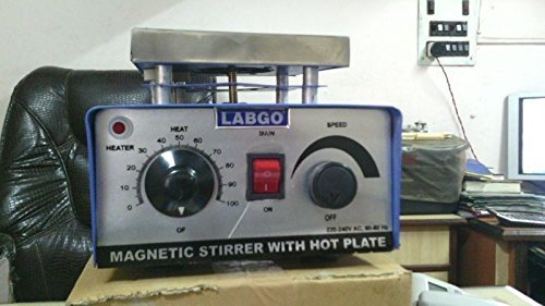 LABGO Magnetic Stirrer With Hot Plate 01
