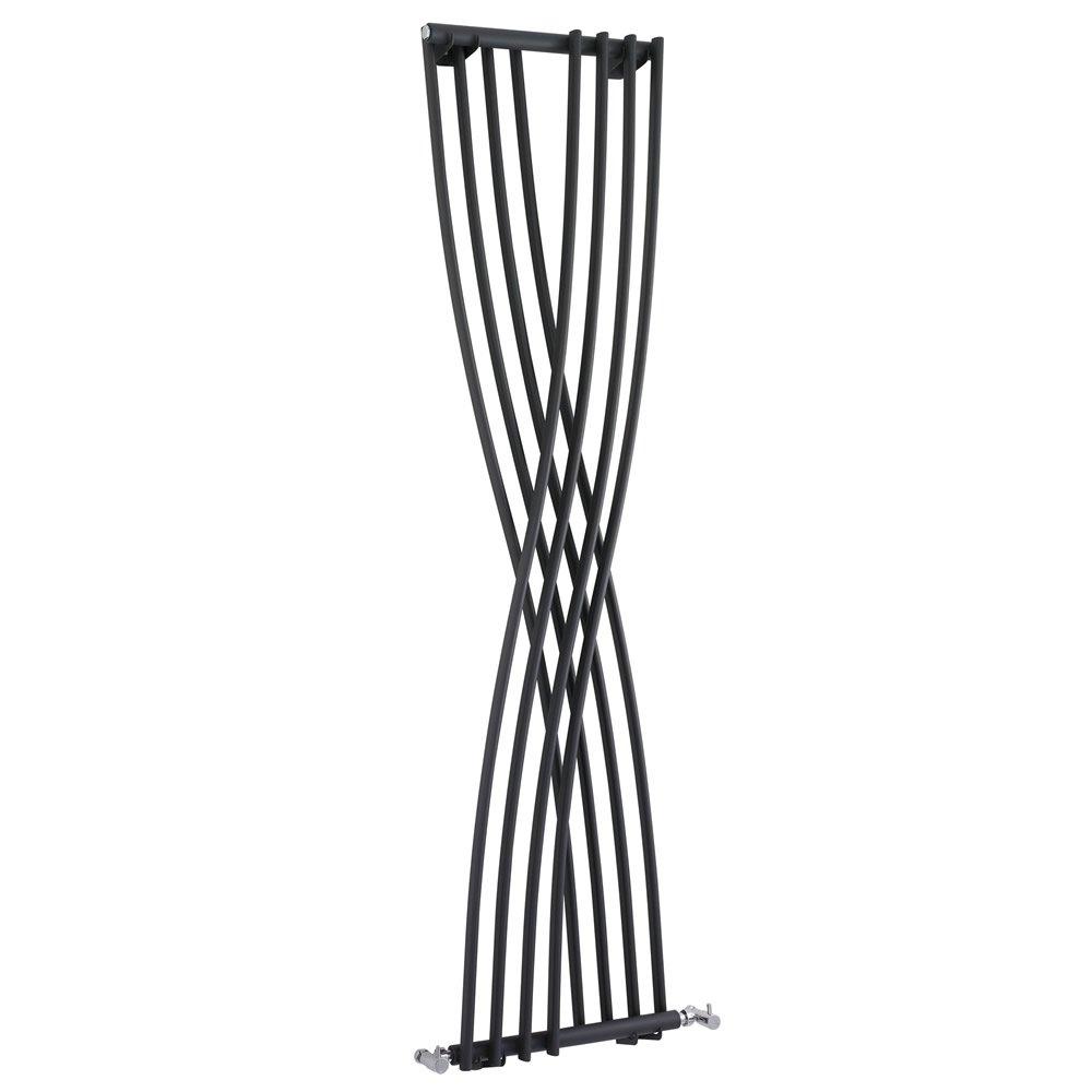 1775 x 450 mm Xite Anthrazit Hudson Reed Design Heizk/örper Vertikal aus Stahl