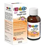 Pediakid Appetite-Weight Gain, a Natural Appetite and Weight Gain Stimulant for Underweight Children (Raspberry Flavor)