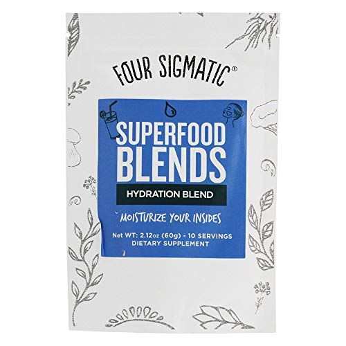 (Four Sigmatic Hydration Superfood Blend with Tremella Mushroom, Lemon, Acerola, Sea Buckthorn Berry, Monk Fruit and Coconut - Moisturize your Body from the Inside)