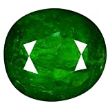 1.18 ct Oval Cut (7 x 6 mm) Russian Tsavorite Garnet Natural Loose Gemstone