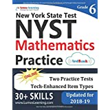 New York State Test Prep: 6th Grade Math Practice Workbook and Full-length Online Assessments: NYST Study Guide
