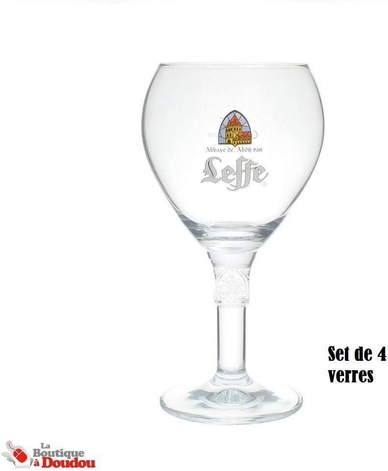 Leffe Glass Vaso de Cerveza 33CL (Set de 4)