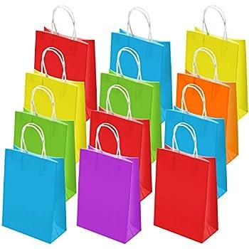 Amazon.com: Aisamco - Bolsas de papel para fiesta (30 ...