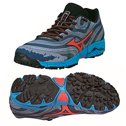 Mizuno Men's Wave Kazan Running Shoes Grey Eu8ZdGz