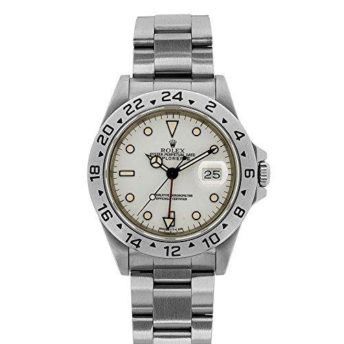 de18caaa8e2 Rolex Explorer II automatic-self-wind mens Watch 16570 WO (Certified  Pre-owned) - Buy Online in UAE.