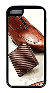 iphone 5C case,custom iphone 5C case,PC Material,Drop Protection,Shock Absorbent,Customize your own cell phone case pattern,black case,Vintage leather shoes