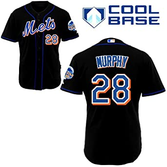 new concept 1885e 57332 New York Mets Trikot 28 Daniel Murphy Jersey White Mens ...