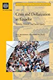 img - for Crisis and Dollarization in Ecuador: Stability, Growth, and Social Equity (Directions in Development) book / textbook / text book
