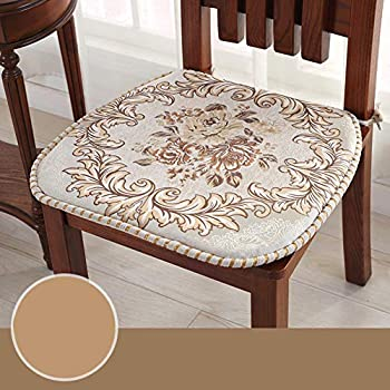 Amazon.com: OSHDKSLDS European Style Fabric Dining Chair ...
