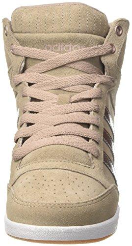 adidas Damen Super Wedge W Sneakers, Beige
