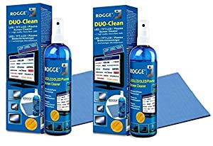 ROGGE DUO-Clean Original DoppelSet, 2x 250ml LCD - TFT - LED - TV - Touch...