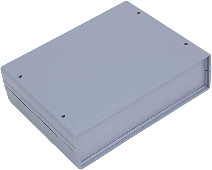 uxcell Gray ABS Enclosure Electronic Terminal Junction Box 150x150x70mm