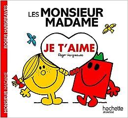 Les Monsieur Madame Je T Aime Amazon Fr Adam Hargreaves