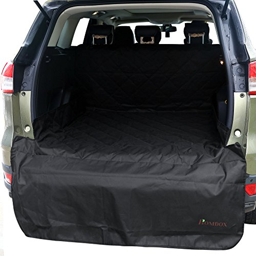 homdox cargo liner pet seat cover waterproof durable black dog seat cover for cars suv get. Black Bedroom Furniture Sets. Home Design Ideas