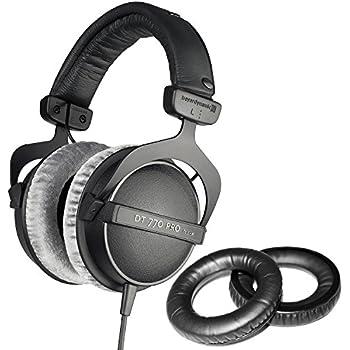 beyerdynamic dt 990 pro 250 headphones with dekoni audio standard replacement ear. Black Bedroom Furniture Sets. Home Design Ideas