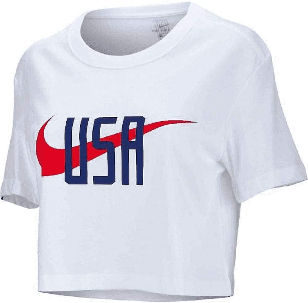 White Nike 2019 Womens USWNT World Cup Squad T-Shirt M