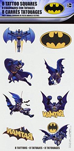 (Amscan Batman Tattoo Favors, Party Favor, 192)