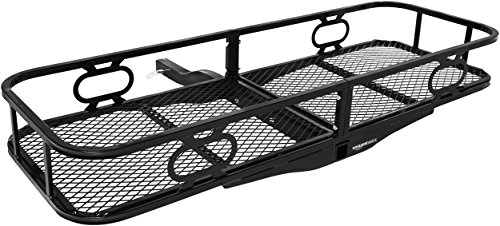AmazonBasics Hitch Cargo Carrier for 2 Inch Receivers ()