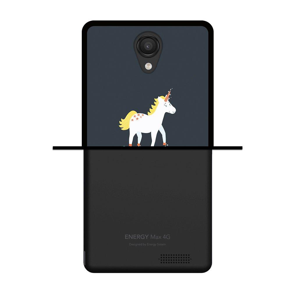 WoowCase Funda para Energy Phone MAX 4G, [Energy Phone MAX 4G ] Silicona Gel Flexible Frase Motivación - Just Believe in Your Dreams, Carcasa Case TPU ...