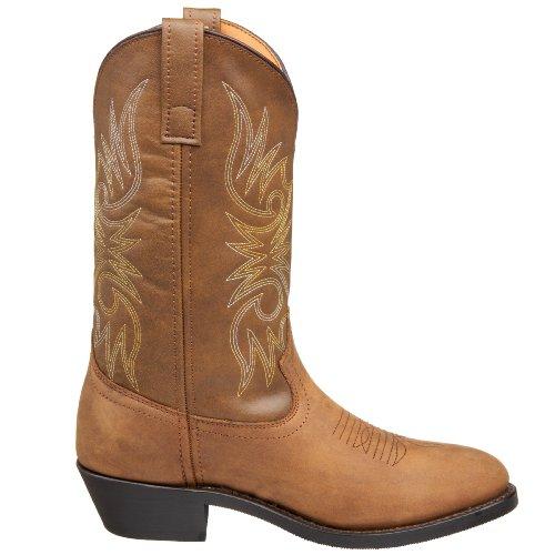 "Laredo Men's 12"" Trucker boot,Tan Distressed,10.5 D US"