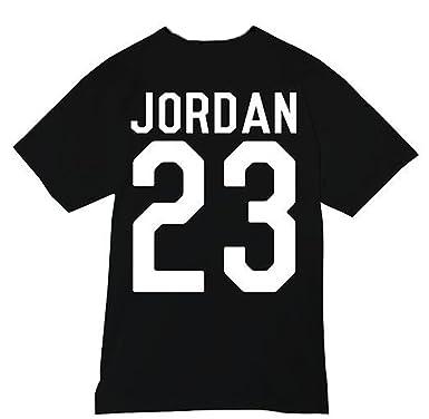 d23759cbe372 New Unisex Jordan 23 T-Shirt Top Michael Air MJ Chicago Bulls Basketball  Washington Jordans (SMALL 8
