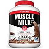 Muscle Milk Genuine Protein Powder, Chocolate, 32g Protein, 79.04 Ounce
