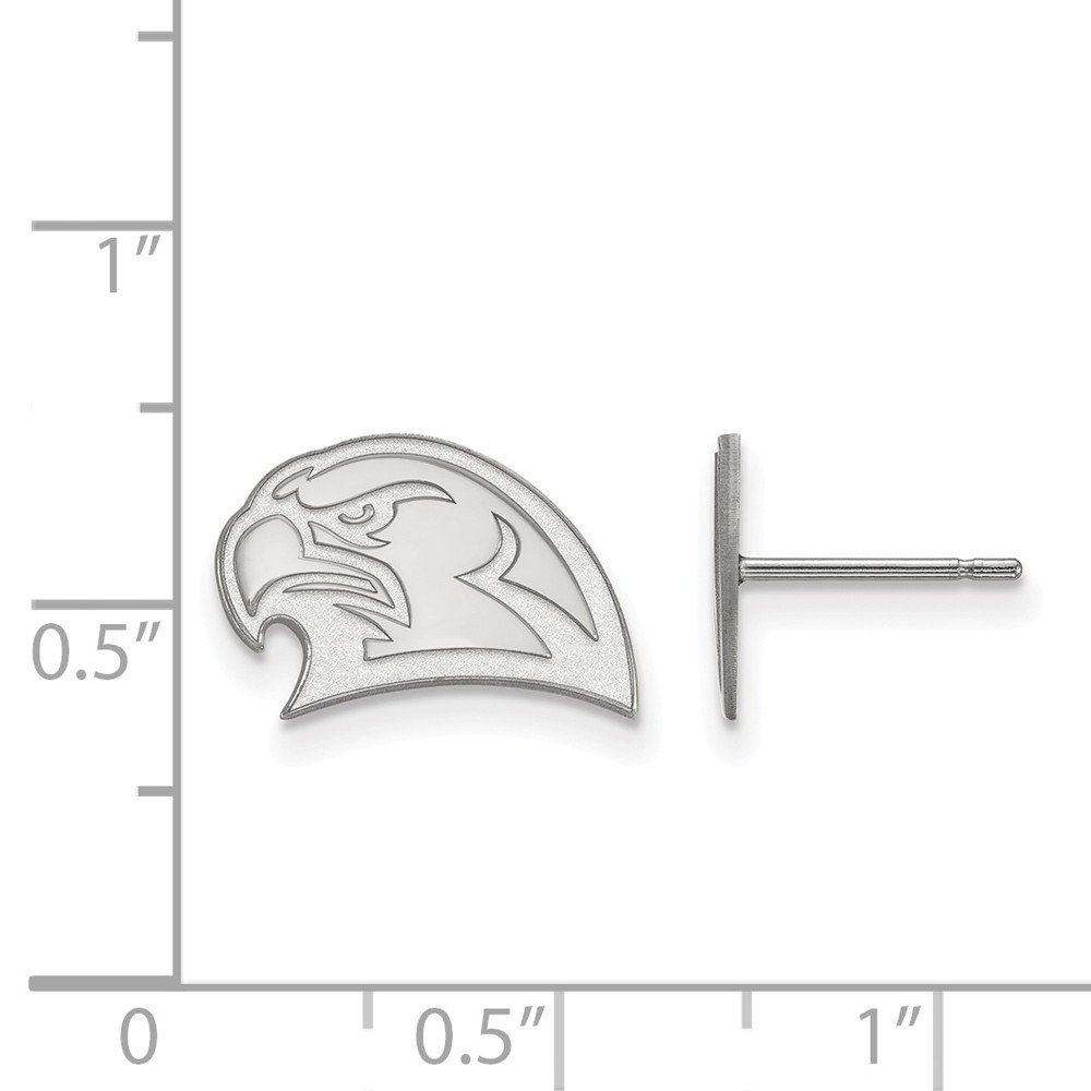 Collegiate Miami University Sterling Silver LogoArt Miami University Small Post Earrings