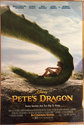 Pete's Dragon Movie Poster 2 Sided Original Intl Final Disney