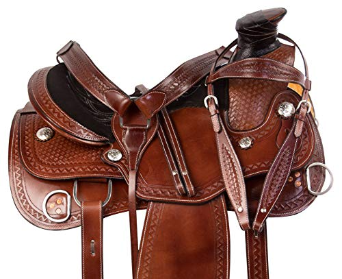 AceRugs Western Training Horse Saddle Leather Wade for sale  Delivered anywhere in USA