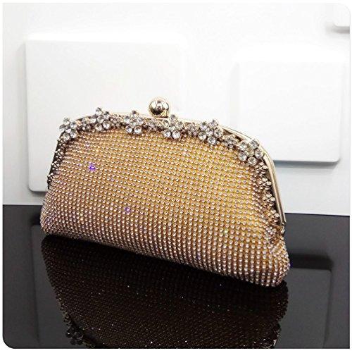 Dimensions Diamond Pochette Bag Jaune Strass Trois Nuptiale En Bandoulière Party Qualité Yyy De Ladies Haute Soirée Wlq Robe À Sac ZqfxdE