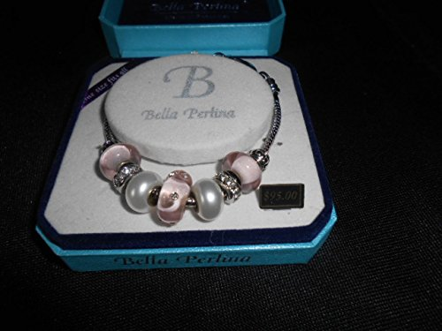 bella-perlina-bp10034b-bracelet-pink-and-pearl-with-diamond-accents