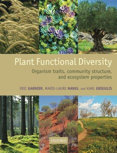 Plant Functional Diversity: Organism traits, commu…
