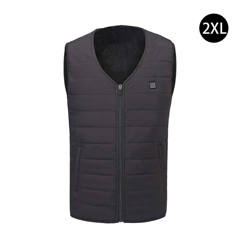 LeKing--Heated vest, graphene vest, USB safety intelligent thermostat, unisex
