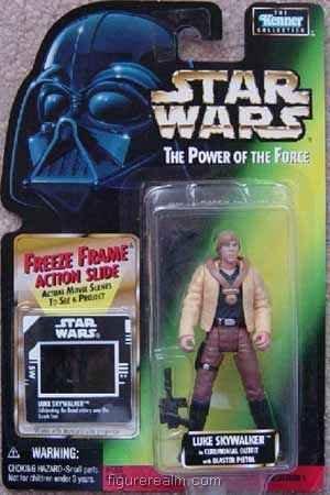 Star Wars - Power of the Force (1995) Luke Skywalker (Ceremonial Gear)