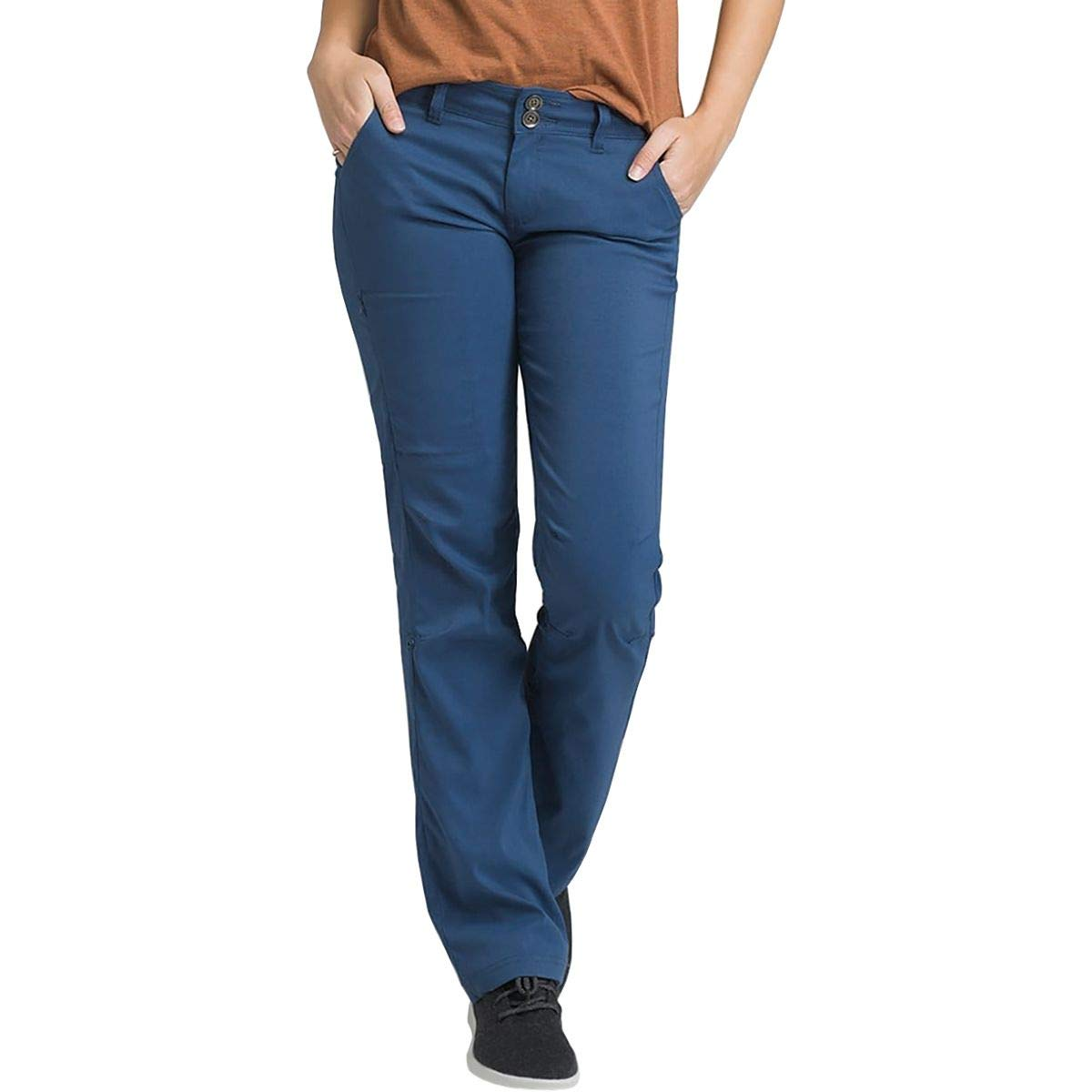 prAna Women's Regular Inseam Halle Pants, 0, Equinox Blue