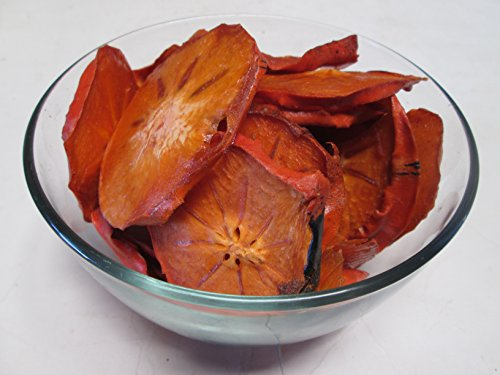 Dried Persimmon Slices 1 Pound Bag - 100% Organic -