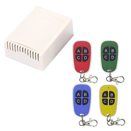Amazon com: graroiC Wireless Remote Control Switch
