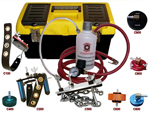 One Man Brake Bleeder Complete Kit for 1967-2017 American, European & Asian Cars