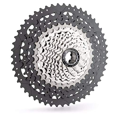 Image of Cassettes & Freewheels Miche Unisex - Adult XM 12 Sprocket Cassette Silver, One Size