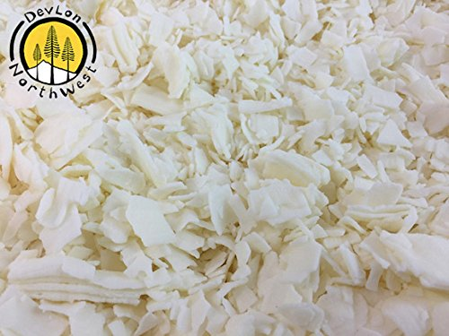 DevLon NorthWest Soy Wax Flakes Wholesale Candle Supply for Aromatherapy Soy Candles in Bulk 22 lbs