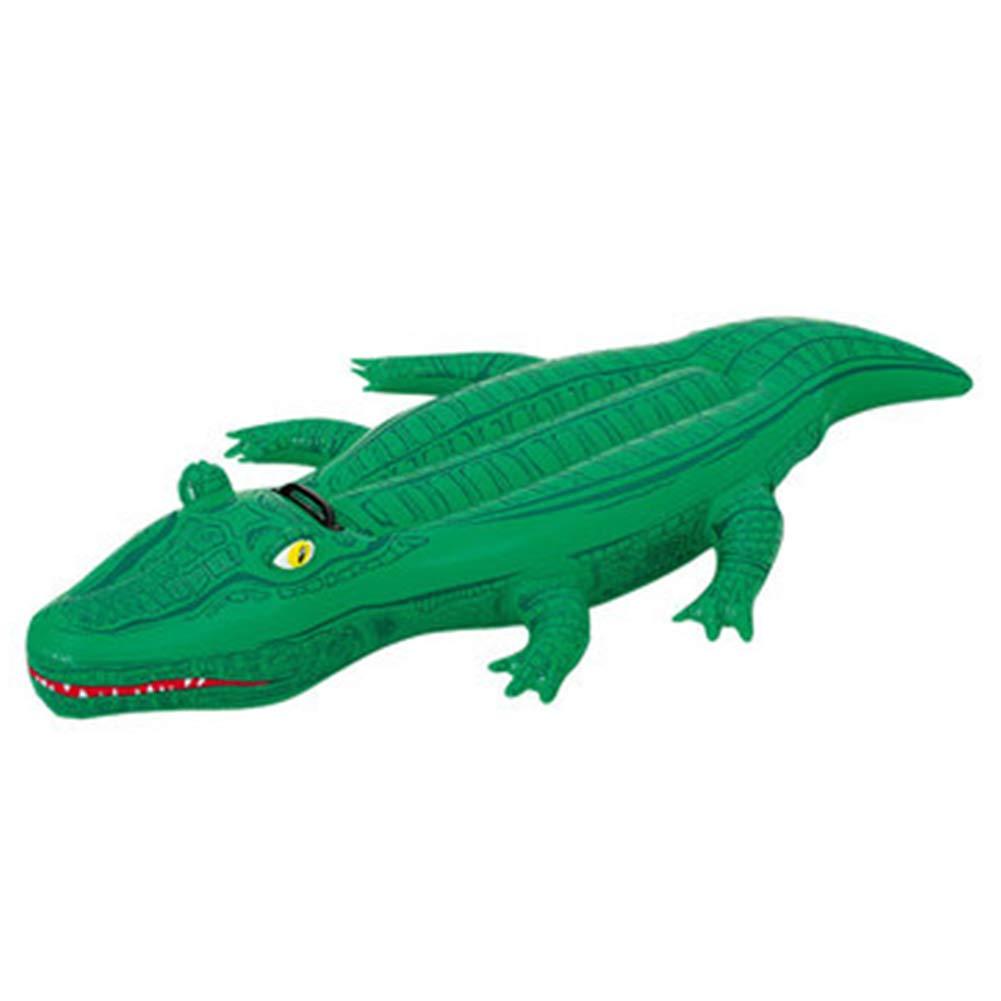 Flotter Ligne Gonflable Crocodile géant bouée Enfants Adultes Flottant Piscine Jouets de Plage