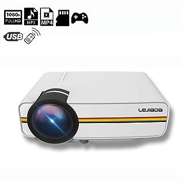 XH Proyector Smart LED HD Pantalla de Proyección Soporte 1080P 100 ...