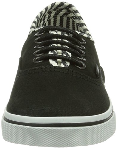 Vans U Authentic Lo Pro (Hickory Stripe - Zapatillas Unisex adulto negro - Schwarz ((Hickory Stripe EGZ)