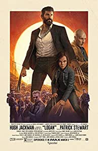 "Logan Wolverine Movie Poster 2017 : BANNER Vinyl 11""x17"" # IMAX"