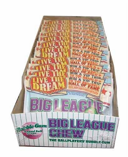 Big League Chew Grape Flavored Bubble (Big League Chew Bubble Gum)