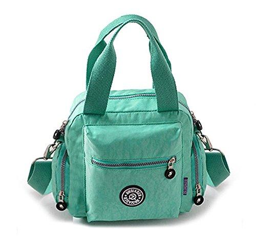 Blue Dark Single Fansela Handbag Shoulder Crossbody Light Women's Nylon Waterproof Travel Tote Green tm YPq1v